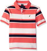 Nautica Little Boys' Multi Color Bold Stripe Polo
