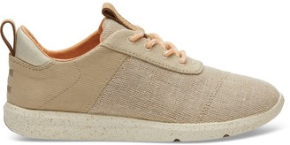 Toms Beige Canvas Textured Twill Cabrillo Women's Sneakers