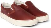 Vans - Cup Ca Leather Slip-on Sneakers