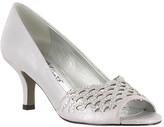Easy Street Shoes Women's Royal Peep Toe Pump
