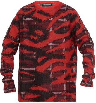 Neil Barrett Mohair Blend Sweater
