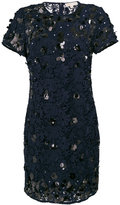 MICHAEL Michael Kors sequin applique lace shift dress - women - Polyester - S