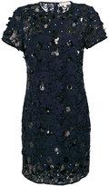 MICHAEL Michael Kors sequin applique lace shift dress - women - Polyester - XS