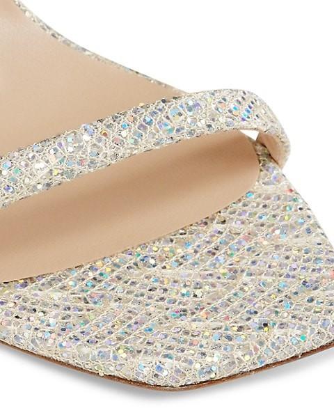 Thumbnail for your product : Stuart Weitzman Amelina Metallic Sandals