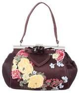 Karen Millen Embroidered Mini Handle Bag