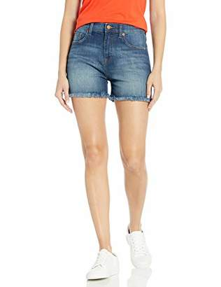 The Drop Crenshaw High-Rise Relaxed Fit Cutoff Long Short,26 (US) 6 (UK)