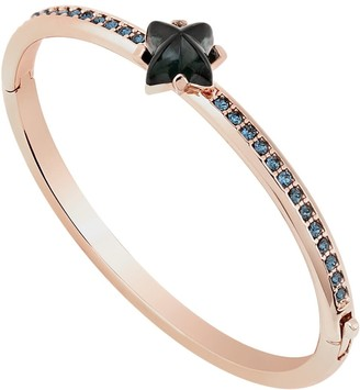 All We Are Pave Glass Star Cuff Rose Gold