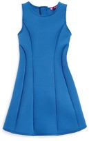 Aqua Girls' Seamed Dress - Sizes S-XL