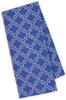 DESIGN IMPORTS Design Imports Blueberry Lattice Jacquard Set of 4 Kitchen Towels