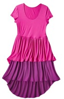 Mossimo Petites Short-Sleeve Tiered Dress - Assorted Colors
