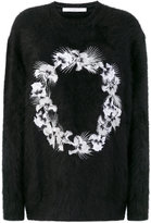 Givenchy floral embroidered sweater