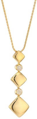 Brera Via 18K Gold & Diamond Cascading Pendant Necklace