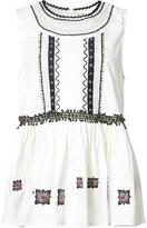 Suno embroidered tank top