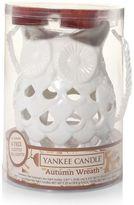 Yankee Candle simply home Autumn Wreath Owl Tealight Candleholder 5-piece Set