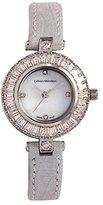 Catherine Malandrino Women's 25mm Leather Band Quartz Watch Cm9397s264-042