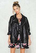 Nasty Gal nastygal Willow Oversized Jacket