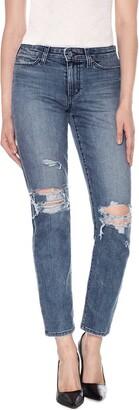 Joe's Jeans Women's Kass High Rise Slim Straight Ankle Jean Pants