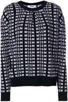 MSGM all-over logo sweater