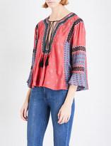 Free People I Like It woven blouse