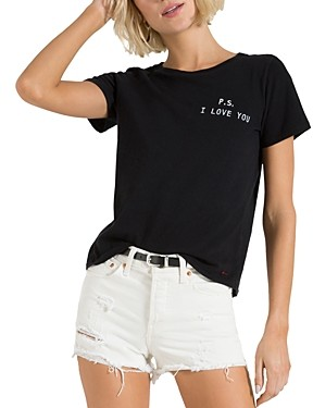 n:philanthropy Cotton P.s. I Love You Graphic Tee