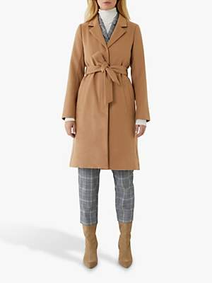 Warehouse Clean Belted Coat