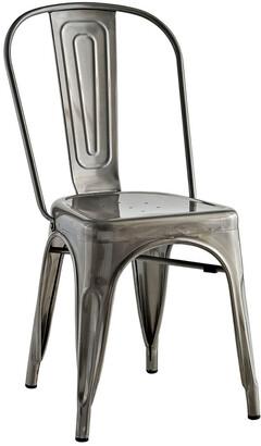 Modway Promenade Steel Dining Side Chair