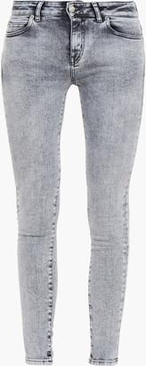IRO Jelsi Acid-wash Low-rise Skinny Jeans