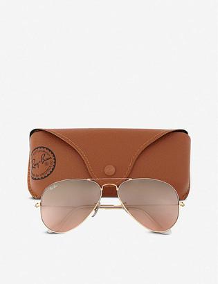 Ray-Ban Original aviator metal-frame sunglasses RB3025 58