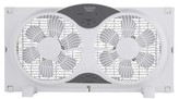 Sharper Image 9 Inch Twin Window Fan