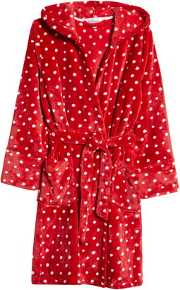 PJ Salvage Hooded Fleece Robe
