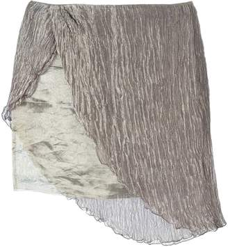 Romeo Gigli Pre-Owned asymmetric mini skirt