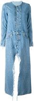 Unravel Project - denim coat - women - Cotton/Polyester - 40