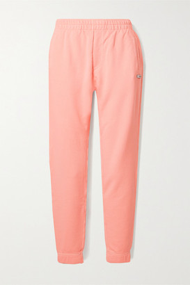 BLOUSE - Alpha Organic Cotton-blend Jersey Track Pants - Peach