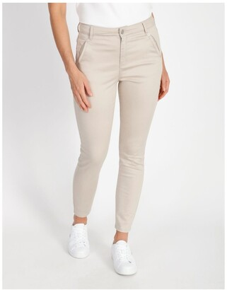 Basque Polished Slim Leg Jean