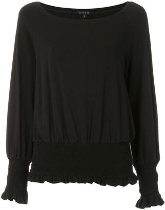 Alcaçuz Ramona elastic waist blouse