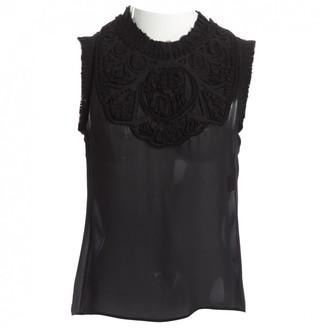 Barbara Bui Black Silk Top for Women
