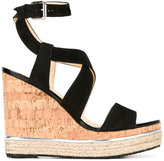 Hogan ankle length sandals - women - Suede/Leather/rubber - 35