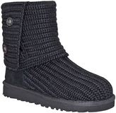 UGG Black Classic Cardy Boot
