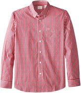 Dockers Framed Gingham Long Sleeve Woven