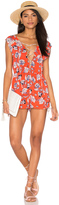 MinkPink Floating in The Tropics Romper