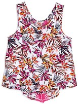 Splendid Girls' Tropical Print Tank - Big Kid