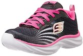 Skechers Pepsters-Rally Up Lace Up Sneaker (Little Kid/Big Kid)