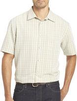 Van Heusen Short-Sleeve Crosshatch Woven Shirt