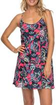 Roxy Tropical Sundance Print Babydoll Dress