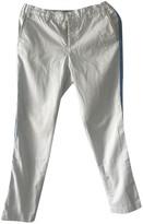 Zadig & Voltaire Blue Cotton Trousers