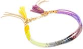 Shashi 3 Row Ombre Clasp Bracelet