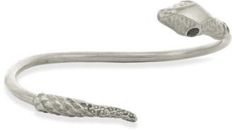 Jennifer Fisher Large Snake Cuff (Silvertone)