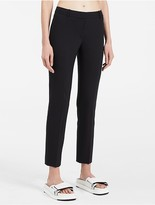 Calvin Klein Platinum Tropical Wool Skinny Pants