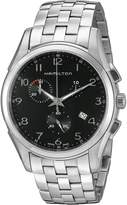 Hamilton Men's H38612133 Jazzmaster Thinline Chrono Dial Watch