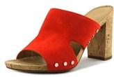Franco Sarto Jeanette Open-toe Leather Mules.